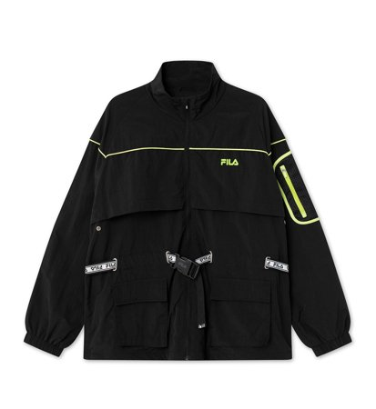 Fila Women Una Windbreaker Black