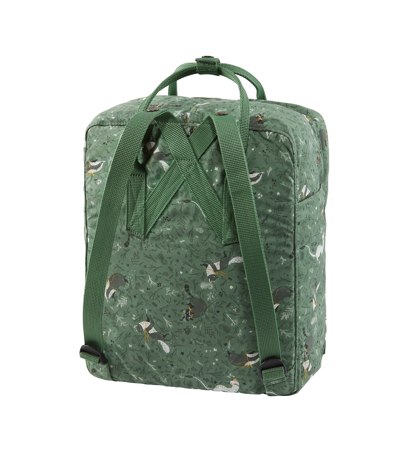 Fjallraven Kanken Art Green Fable