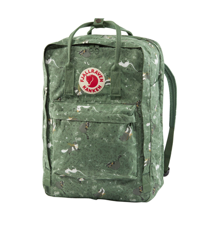 Fjallraven Kanken Art Laptop 17 Green Fable