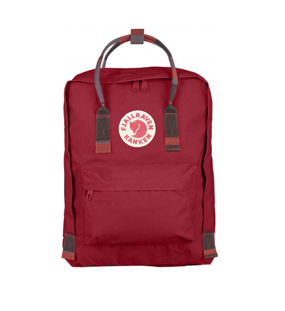 Fjallraven Kanken Deep Red Random Blocked