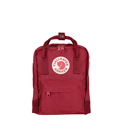 Fjallraven Kanken Mini Deep Red Random Blocked