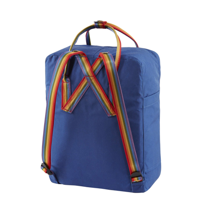 Fjallraven Kanken Rainbow Deep Blue Rainbow