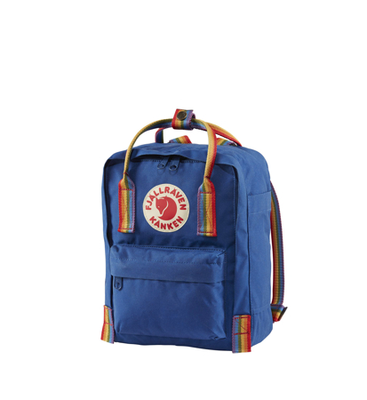 Fjallraven Kanken Rainbow Mini  Deep Blue Rainbow