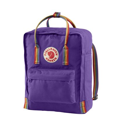 Fjallraven Kanken Rainbow Purple Rainbow