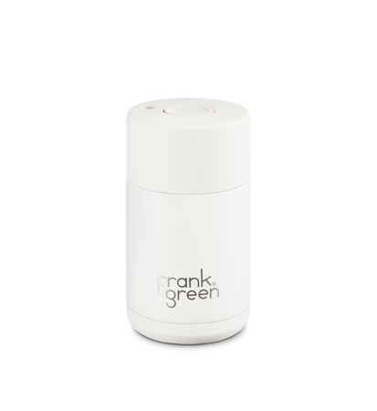 Frank Green Ceramic Reusable Cup Cloud 295ml