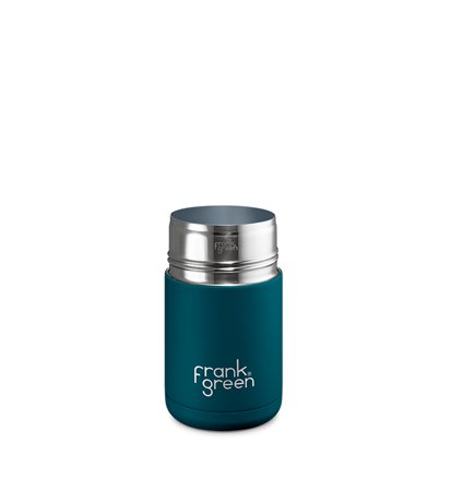 Frank Green Ceramic Reusable Cup Marine Blue 295ml