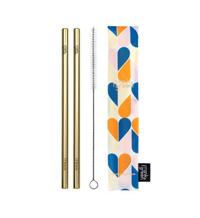 Frank Green Gold Straw Pack