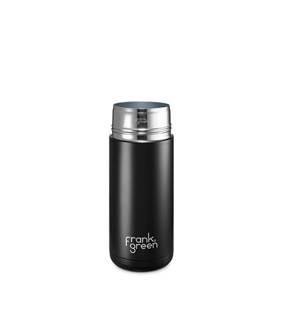 Frank Green Stainless Steel SmartCup Black 475ml