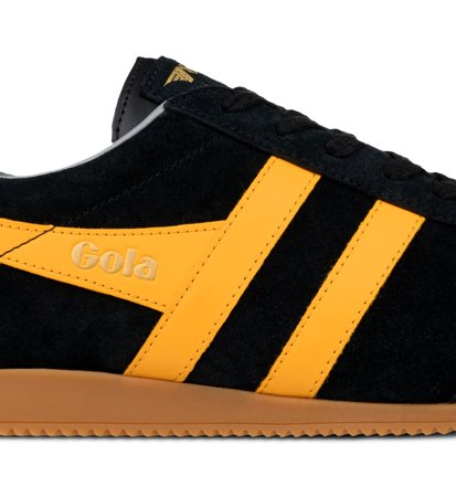 Gola Harrier Suede Black Sun Grey