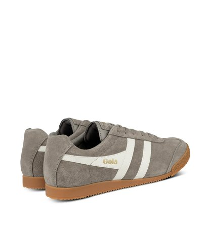 Gola Harrier Suede Rhino Off White