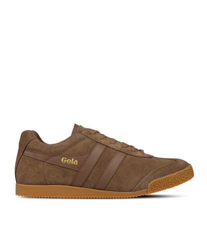 Gola Harrier Suede Tobacco Gum