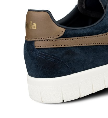 Gola Hurricane Suede Navy Tobacco Off White