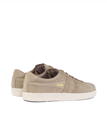 Gola Trainer Suede Cappucino Off White