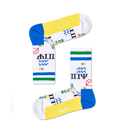 Happy Socks Athletic 3/4 Crew Wingdings