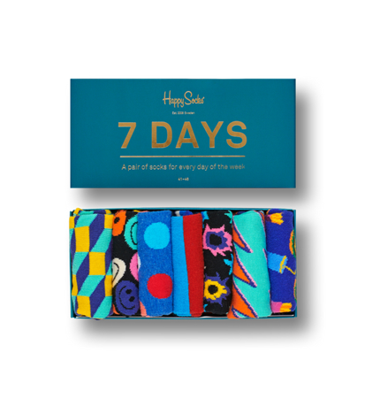 Happy Socks Giftbox 7 Days
