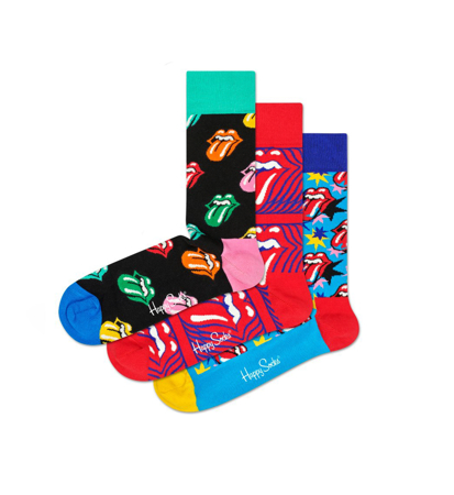 Happy Socks Giftbox Rolling Stones 3-Pack