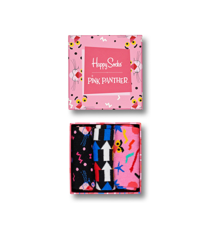 Happy Socks x Pink Panther Giftbox 3-pak