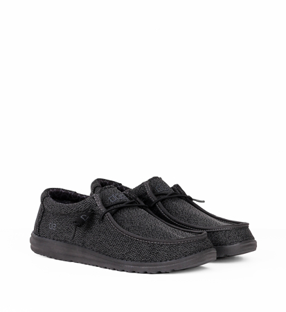 Hey Dude Wally Sox Micro Total Black