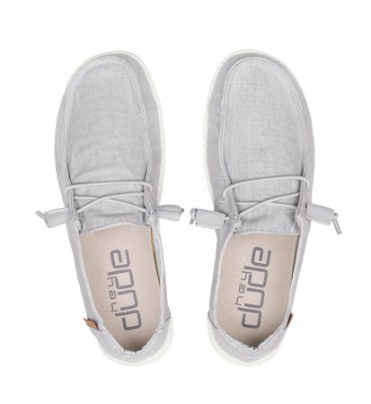 Hey Dude Wendy Chambray Light Grey