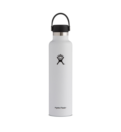 Hydro Flask Standard Mouth 709ml White