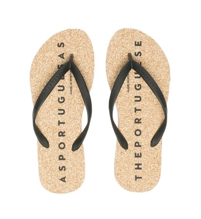 Japonki Męskie Asportuguesas Base Flip Flop Men Natural Black