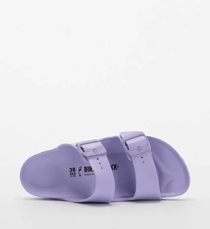 Klapki Damskie Birkenstock Arizona EVA Beach Purple Fog Narrow