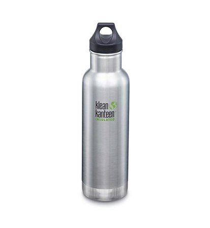 Klean Kanteen Classic Vacuum Insulated Loop Cap 592ml Brushed Stainless