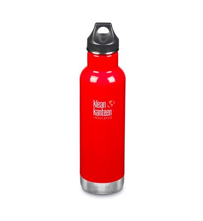 Klean Kanteen Classic Vacuum Insulated Loop Cap 592ml Mineral Red