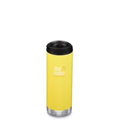 Klean Kanteen Wide Vacuum Insulated Cafe Cap 473ml Buttercup