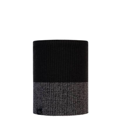 Komin zimowy Buff Knitted & Fleece Neckwarmer Dima Black