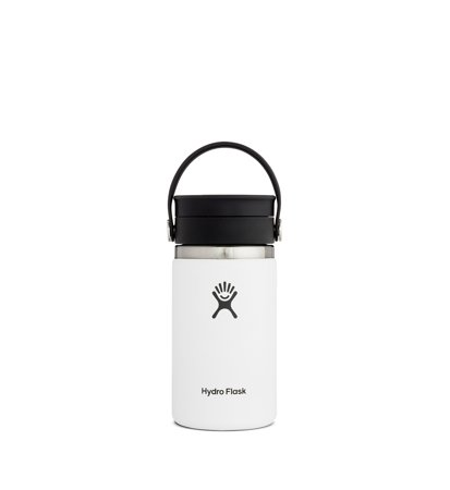 Kubek Termiczny Hydro Flask Wide Mouth Flex Sip Coffee 354ml White
