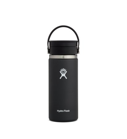 Kubek Termiczny Hydro Flask Wide Mouth Flex Sip Coffee 473ml Black
