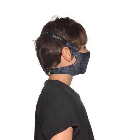 Maseczka Dziecięca Buff Filter Mask Kids Kasai Night Blue One Size