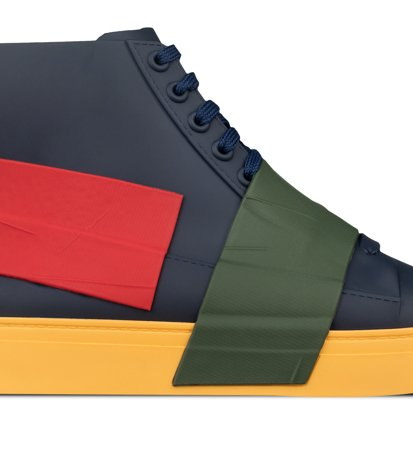 Melissa Crew Ad Blue Green Red