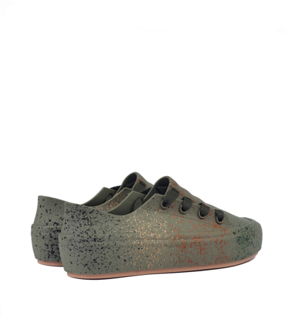 Melissa Ulitsa Sneaker Splash Ad Green Brown