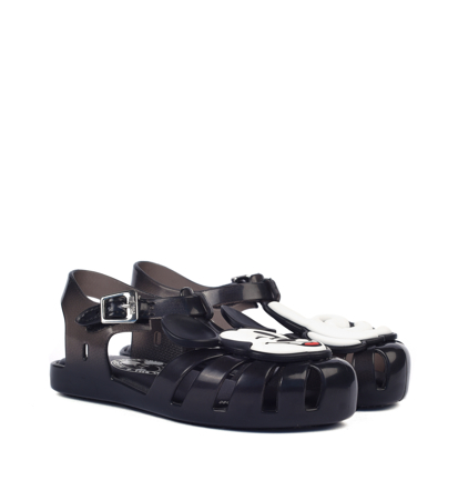 Mini Melissa Aranha + Mickey Black White