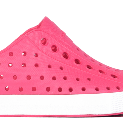 Native Jefferson Hollywood Pink/Shell White Dziecięce