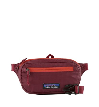 Patagonia Ultralight Black Hole Mini Hip Pack Roamer Red