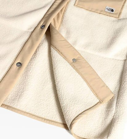 Płaszcz Damski The North Face Cragmont Fleece Coat Bleach Sand/Hawthorn Khaki