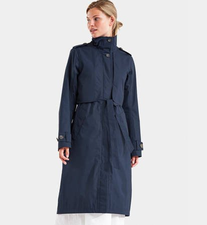 Płaszcz damski Didriksons Lova Women Coat 3 Dark Night Blue