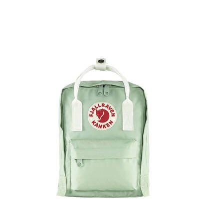 Plecak Fjallraven Kanken Mini Mint Green/Cool White