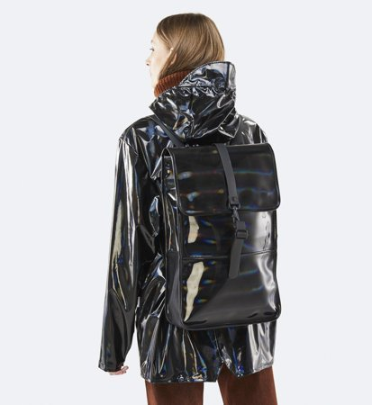 Plecak Rains Backpack Holographic Black