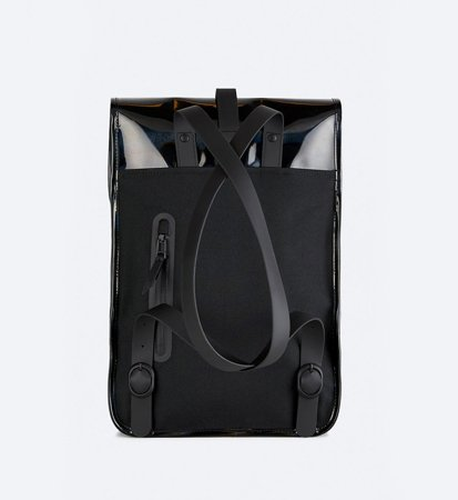 Plecak Rains Backpack Mini Holographic Black
