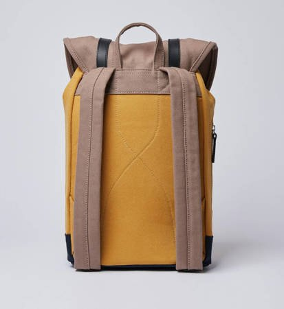 Plecak Sandqvist Stig Earth Brown/Honey/Yellow