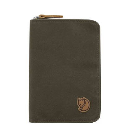 Portfel Fjallraven Passport Wallet Dark Olive
