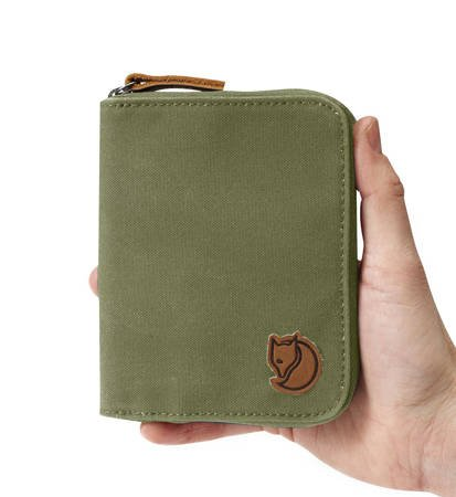 Portfel Fjallraven Zip Wallet Green
