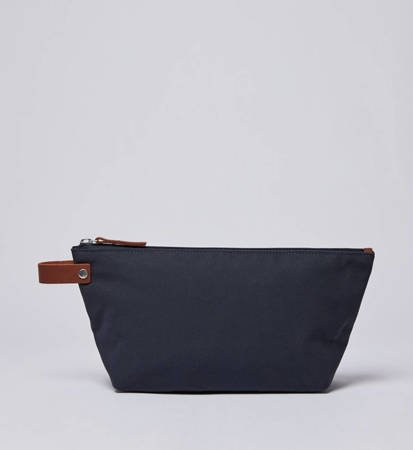 Saszetka Sandqvist Cleo Navy/Cognac/Brown Leather