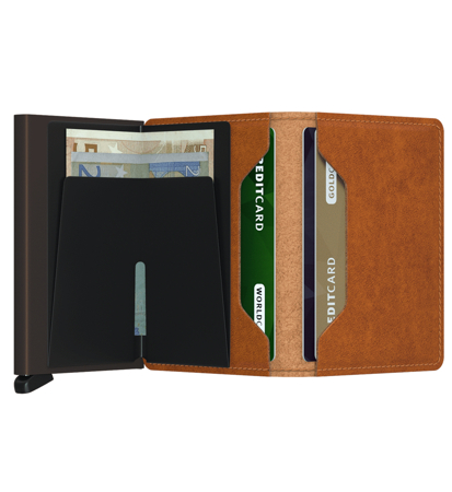 Secrid Slimwallet Original Cognac Brown
