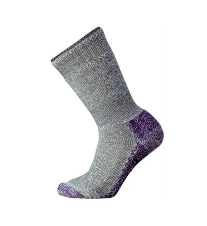 Skarpety SmartWool Mountaineering Extra Heavy Crew Women Grey/Purple