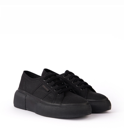 Sneakersy Damskie Superga 2287 Cotw Total Black
